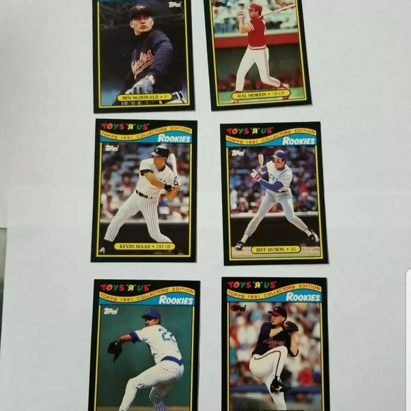 Toys R Us Topps 1991 Collector's Edition Baseball